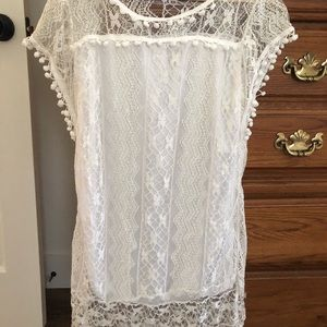 Tops - Ladies lace tunic top or dress